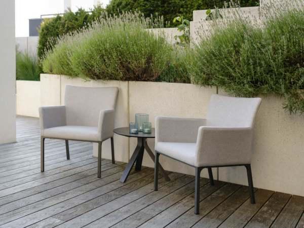 Stern Artus Lounge Gartenmöbelset 3tlg. mit Beistelltisch versch. Größen