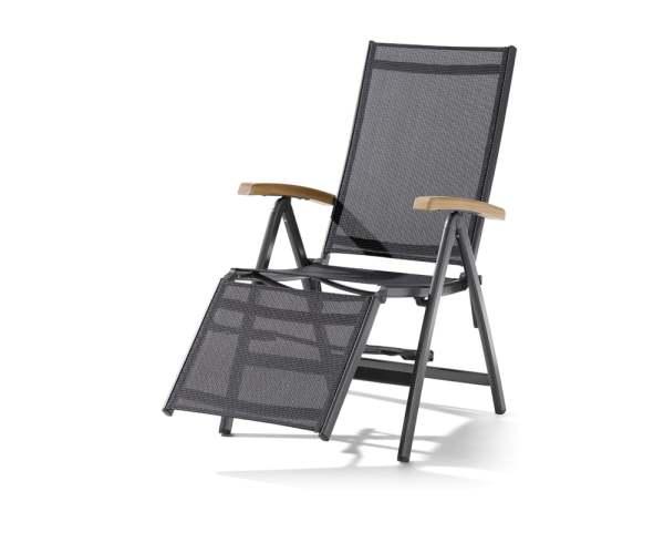 Sieger Cadiz Relaxliege Aluminium/Textilene