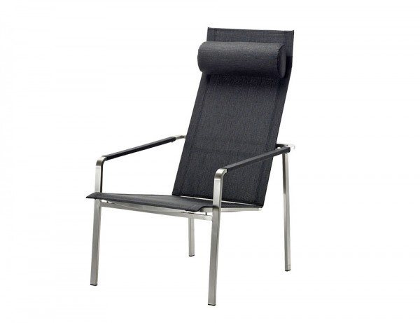 Solpuri Jazz Deck Chair Edelstahl