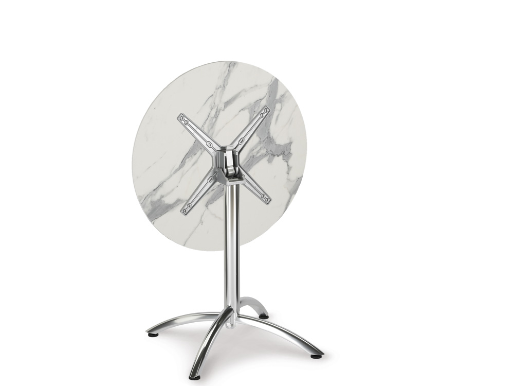 best firenze klapptisch hpl 70 cm marmor online kaufen. Black Bedroom Furniture Sets. Home Design Ideas