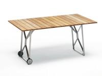 Weishäupl Balance Tisch 160 cm Weiß