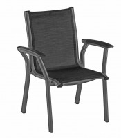Kettler Avalon Dining-Chair anthrazit/graphit