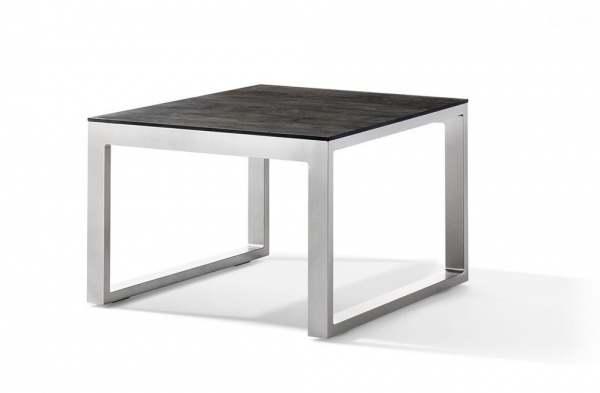 Sieger Loungetisch mit Polytec-Tischplatte 60x60x44 cm