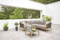 Diamond Garden Lagos Gartenmöbelset 4tlg. inkl. Couchtisch