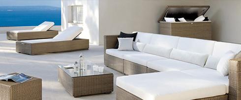 Lounge Sets aus Kunstfaser