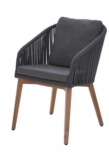 Diamond Garden Palma Stuhl inkl. Sitz- und Rückenkissen
