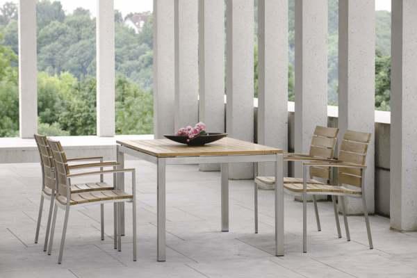 Stern Savona Gartenmöbelset 6tlg. mit Gartentisch 160x90 cm