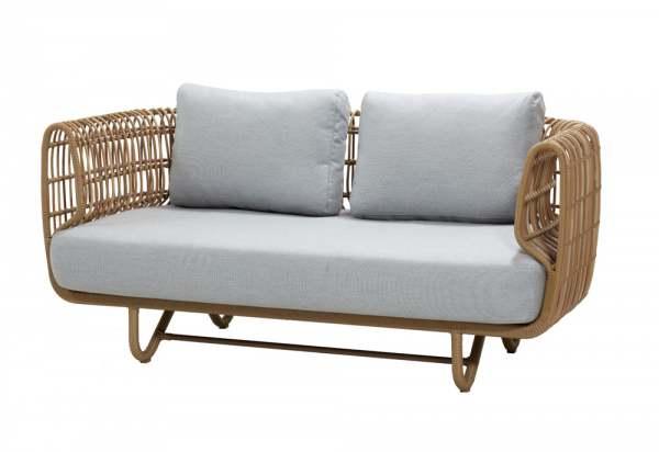 Cane-Line Nest 2-Sitzer Sofa inkl. Kissensatz