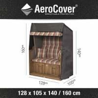 Aerocover Schutzhülle für Strandkörbe 128x105x160/140 cm