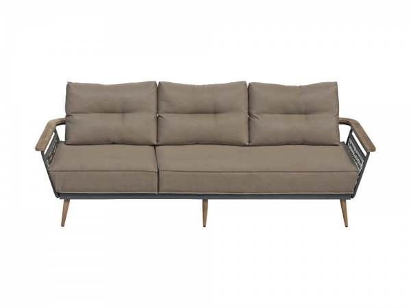 Zebra Flix Lounge 3-Sitzer inkl. Sitz- und Rückenkissen
