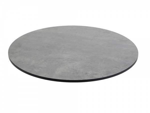 Diamond Garden Compact HPL Tischplatte Rund