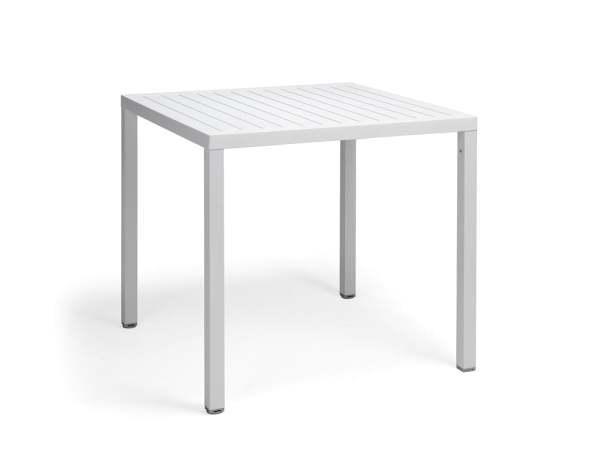 Nardi Cube 80 Beistelltisch Aluminium