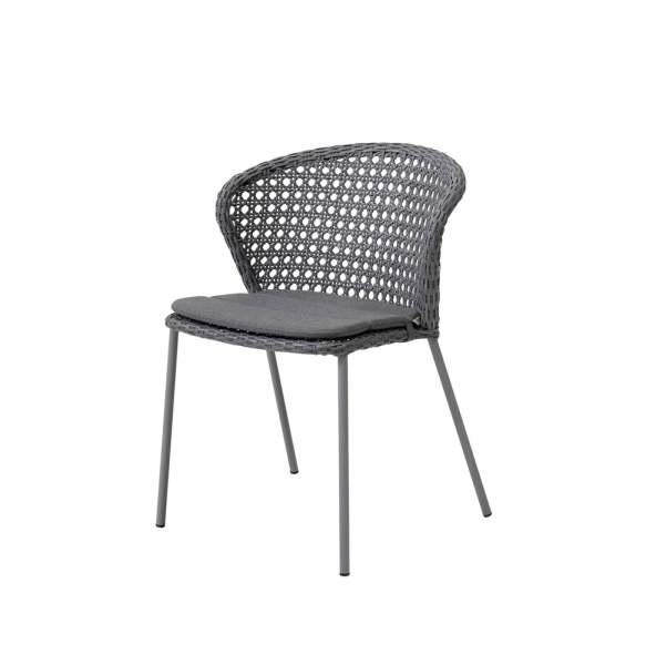 Cane-Line Lean Stuhl inkl. Sitzkissen