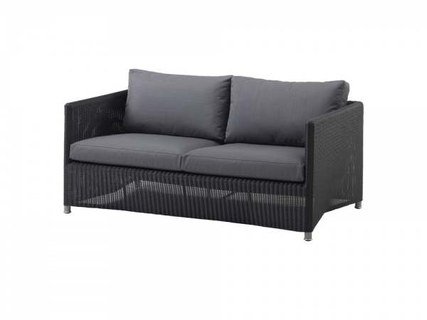 Cane-Line Diamond 2-Sitzer Sofa inkl. Kissen
