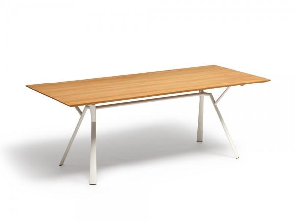 Fast Radice Quadra Tisch Teak 200x90 cm