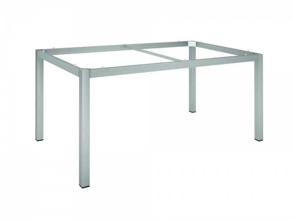 Stern Tischgestell Edelstahl Vierkantrohr