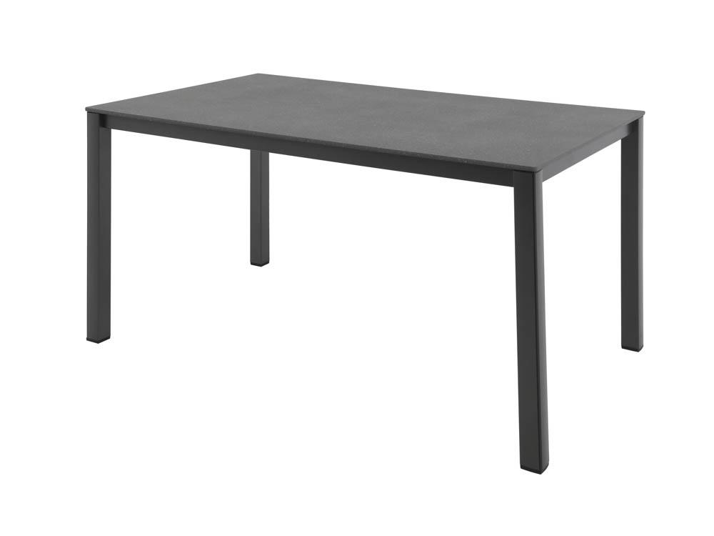 mwh elements tisch aluminium eisengrau online kaufen beckhuis. Black Bedroom Furniture Sets. Home Design Ideas