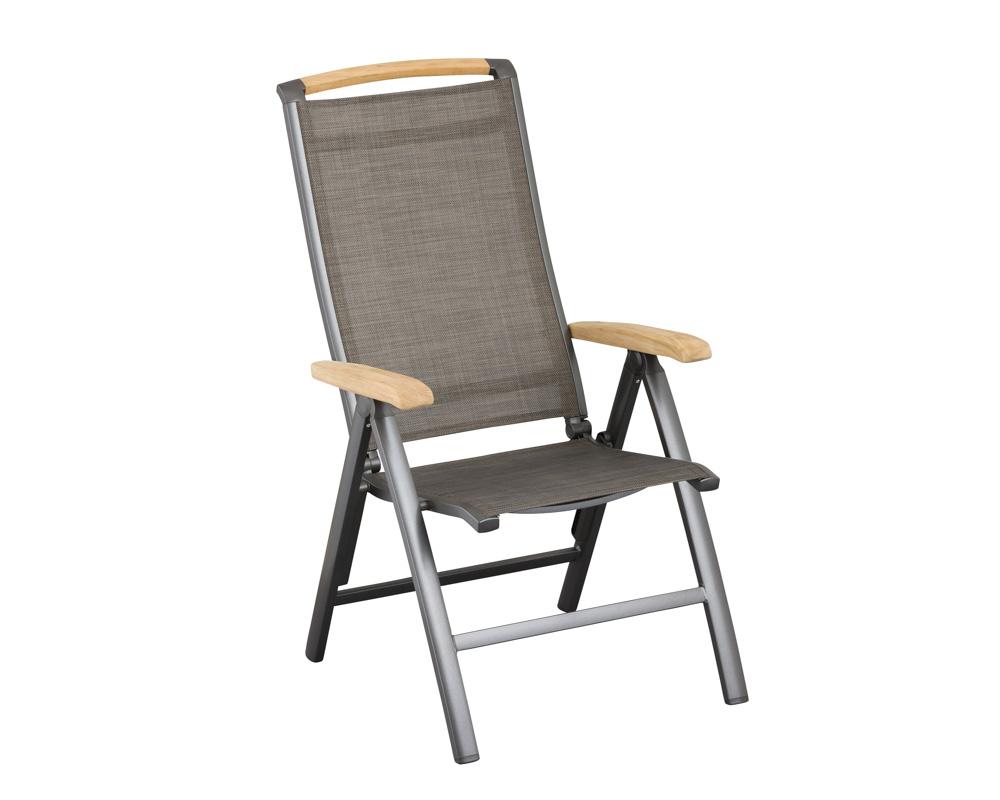 kettler memphis multipositionssessel aluminium anthrazit bronze. Black Bedroom Furniture Sets. Home Design Ideas