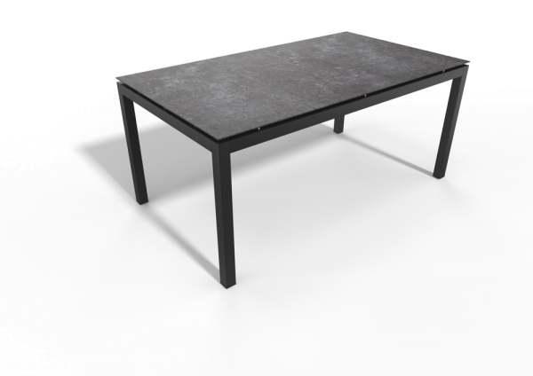 Stern Gartentisch Aluminium/Dekton Lava