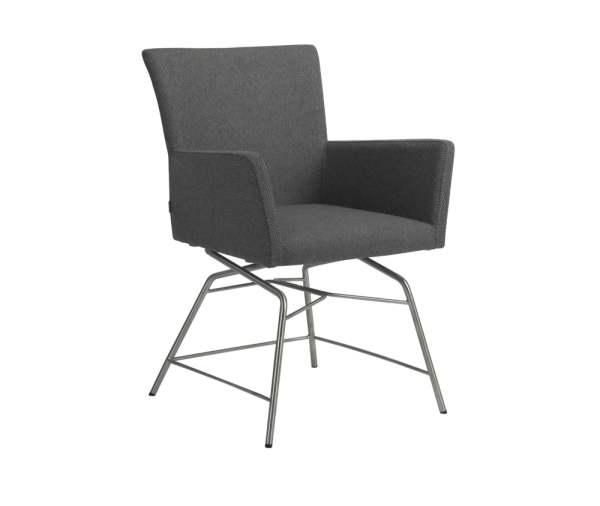 Stern Artus VIP Sessel Edelstahl/Outdoorstoff