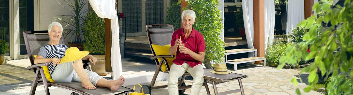 Gemütlich im Garten sitzen - worauf sollte man achten?
