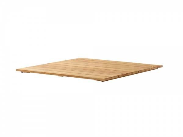 Sieger Teakholz-Tischplatte
