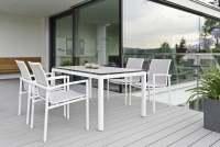 Stern Skelby Gartenmöbelset 6tlg. mit Gartentisch 160x90 cm