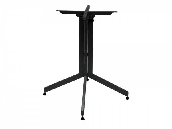 Stern Tischgestell Aluminium abklappbar