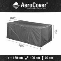 Aerocover Tischhülle 160x100x70 cm