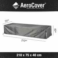 Aerocover Schutzhülle für Liegen 210x75x40 cm