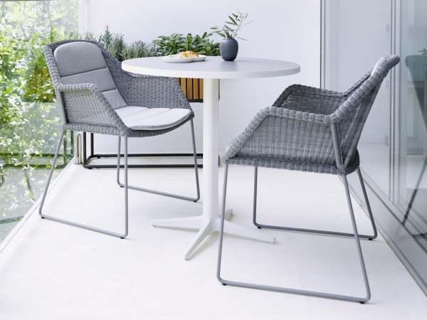 Cane Line Breeze Gartenmöbel Set 6 Tlg Mit Bistrotisch