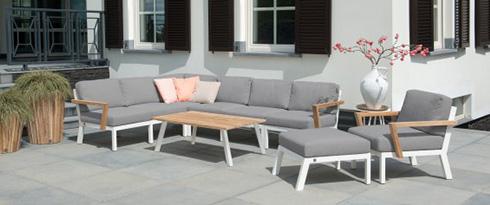 Lounge Sets mit Textilene