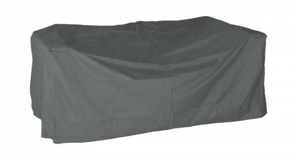 Stern Schutzhülle für Lounge-Sofa Vanda mit Bindebändern grau 100% Polyester