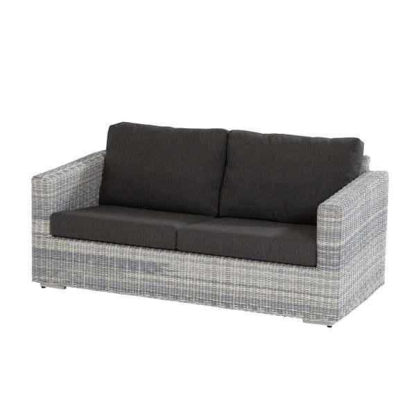 4Seasons Edge Living Sofa 2.5 Sitzer Ice inkl. 4 Kissen
