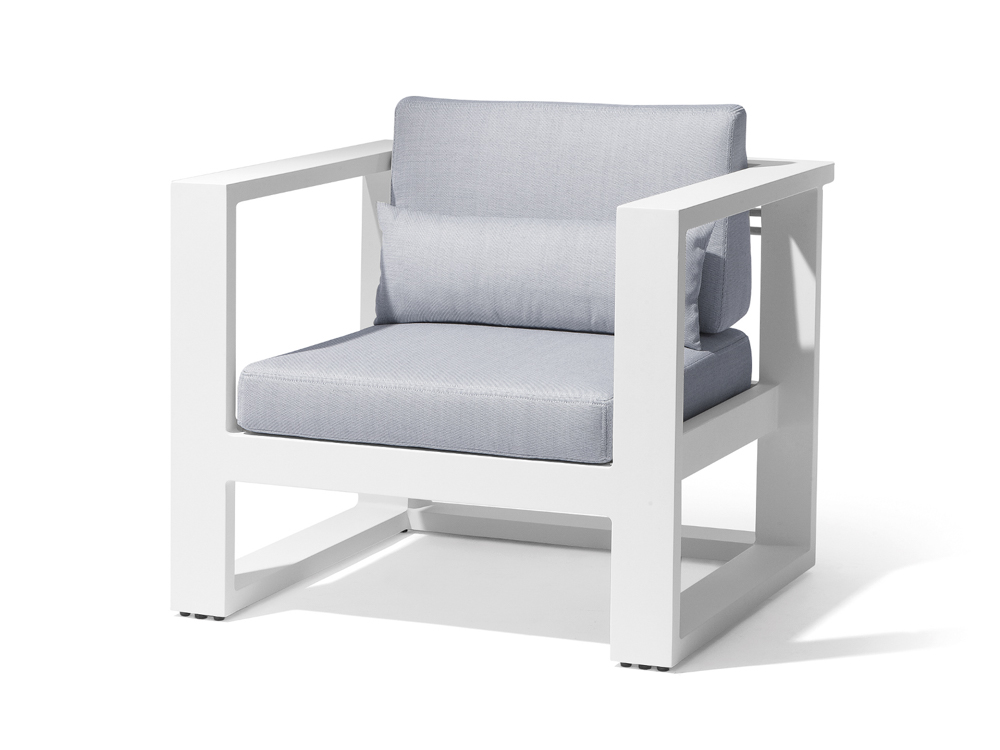 manutti fuse pca garten loungesessel white all weather basic white online kaufen beckhuis. Black Bedroom Furniture Sets. Home Design Ideas