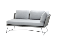 Cane-Line Horizon 2-Sitzer Modulsofa inkl.Kissensatz Rechts