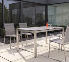Gartenmöbel Edelstahl online kaufen - Stühle, Tische & Sets