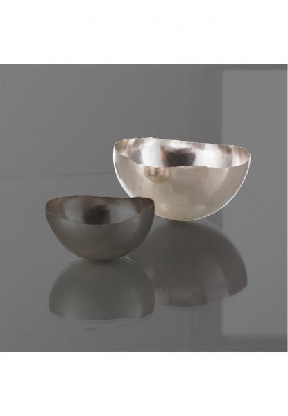 Robbe & Berking Schale groß Martelé 925 Sterling-Silber