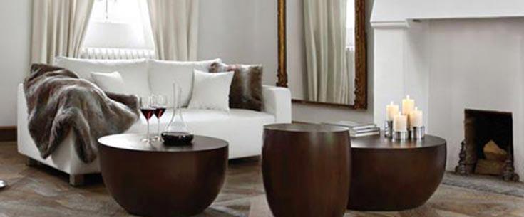Möbel, Leuchter und Accessoires