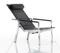 Solpuri Allure Deck Chair Edelstahl