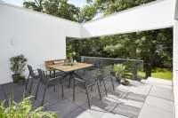 Diamond Garden Valencia/Pisa Gartenmöbelset 8tlg. mit Lyon Quatro Tisch 150x150 cm