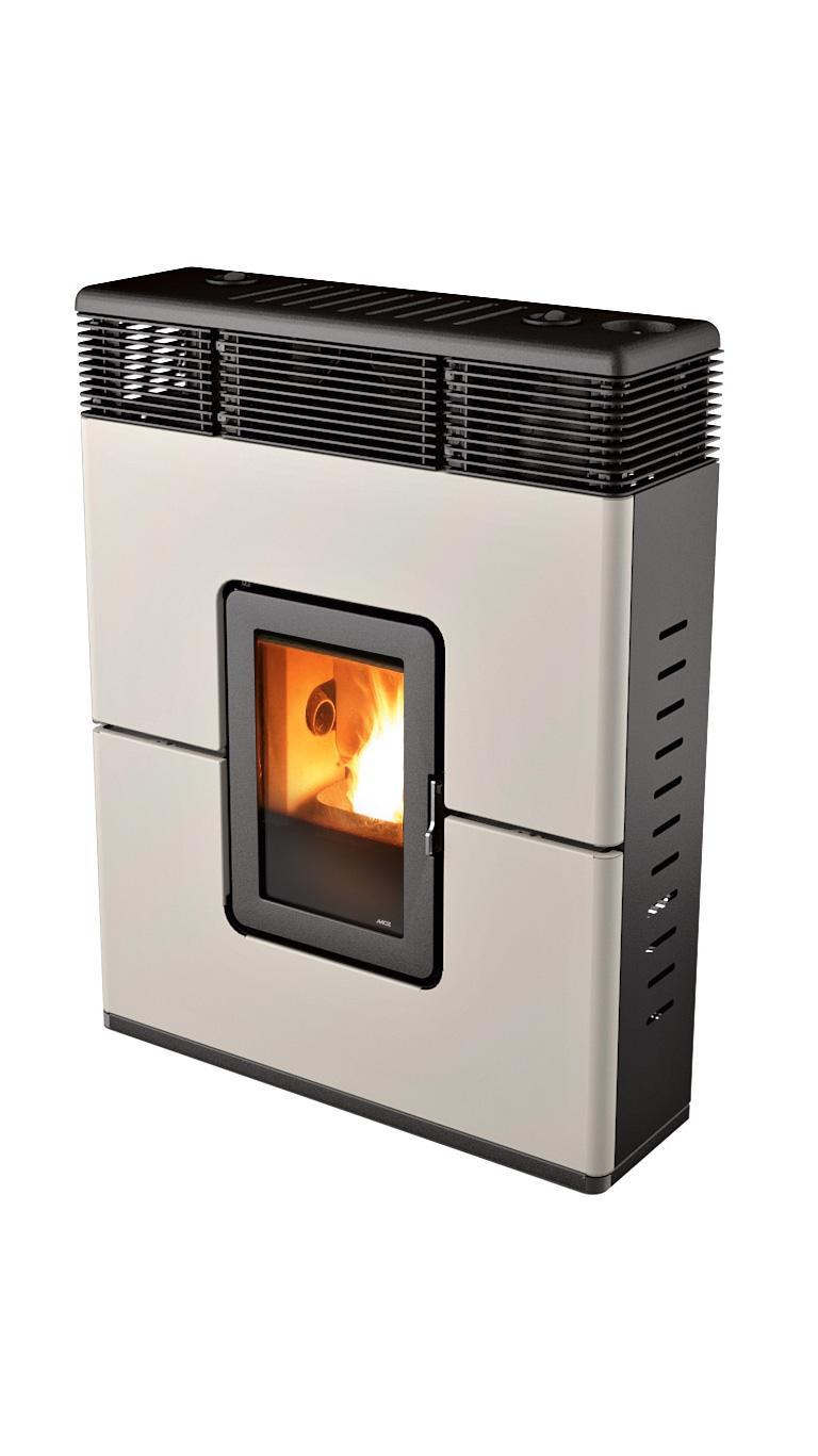 mcz philo comfort air pelletofen keramik wei online kaufen beckhuis. Black Bedroom Furniture Sets. Home Design Ideas