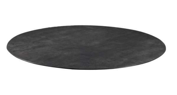 Zebra Tischplatte Ø 110 cm