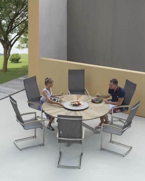 Zebra Setax Swing Set 7tlg. mit Oryx Tisch