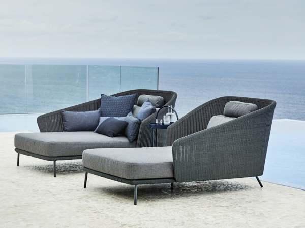 Cane-Line Mega Garten Lounge Daybed 3-tlg.